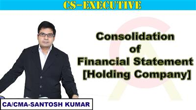 Consolidation of Financial Statement [Holding Company]
